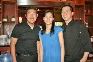 Owners of Lotus are, from left, George Wu, Yuki Wu and Yuki's husband, Jim Wu.